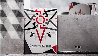 Cardistry Fanning Playing Cards Deck (WHITE) Poker USPCC Flourish