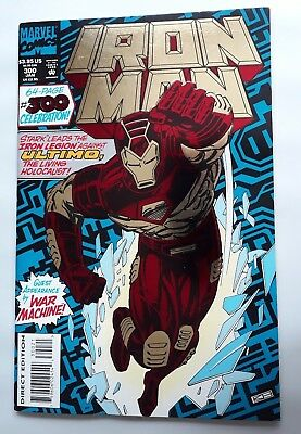 Invincible Iron Man #300 64 Page Special, Foil Cover, Ultimo, War Machine, 1994
