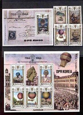 008488 KOREA Balloons set+sheet+S/S MNH #8488
