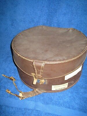 Vintage Travel Hat Box From The 1930's