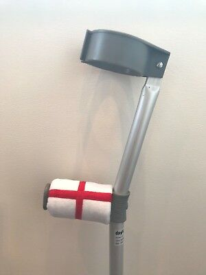*LIMITED EDITION* - World Cup ENGLAND - Crutch Handle Padded Covers - Foam Pad