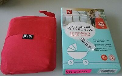 J.L. Childress Standard & Double Stroller Gate Check Travel Bag