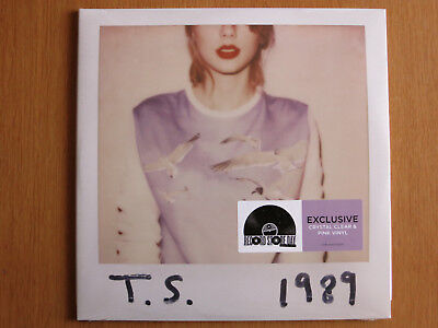 Taylor Swift - 1989 - Crystal Clear & Pink Vinyl 2 LPs (RSD 2018)