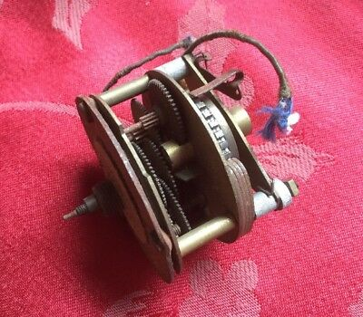 Small Electric Vintage Clock Movement Spares Repair