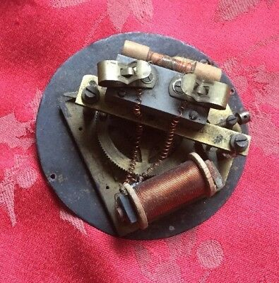 Early Vintage Electric Clock Movement Only Possibly Master Clock Synchronome Etc