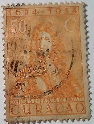 Curacao   Scott#118    Used Stamp ......worldwide Stamps