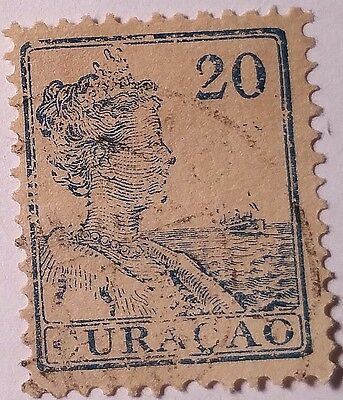 Curacao   Scott#62  Used Stamp ......worldwide Stamps