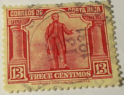Costa Rica  Scott#157    Used Stamp.....worldwide Stamps