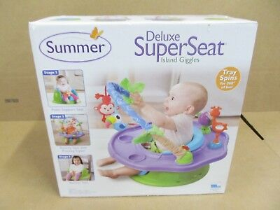 Baby Booster Seat Play Toys Feeding Chair Summer Infant Superseat NEW
