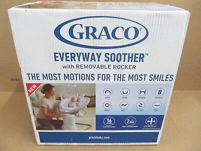 Graco Every Way Soother Removable Rocker Baby Swing Josephine