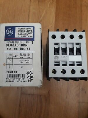 GE electrical contactor CL03A310MN 45A 3 phase