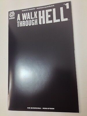 A Walk Through Hell #1, Black Cover, Aftershock comics