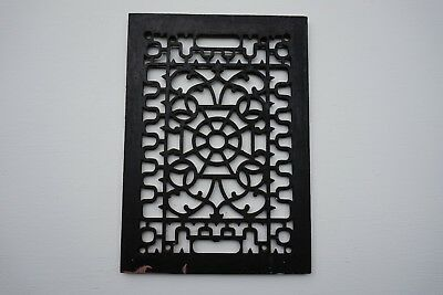 Antique Vintage Heat Grate Wall Register Old