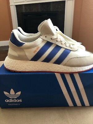 official photos 70c48 c4254 Adidas Originals Iniki Runner Pride Of The 70s Boost White Blue Red