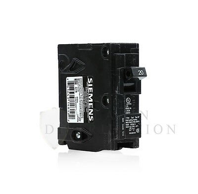 Siemens Q120 20 Amp 1 Pole Type QP Snap In Circuit Breaker - 20A 120/240V