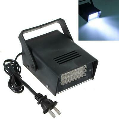 24 LED Durable Strobe White Lights DJ Disco Operated Party Stage Lighting Effect