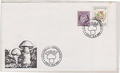 (K82-19) 1985 Norway FDC Fungi  (S)