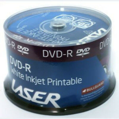 Laser Printable Dvd-R 16X Spindle (50Pcs)
