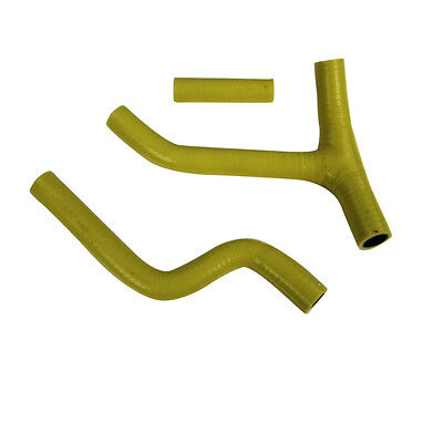 SILICONE RADIATOR YELLOW HOSE KIT PIPE FOR YAMAHA YZF250 YZ250F 2010 Pick up