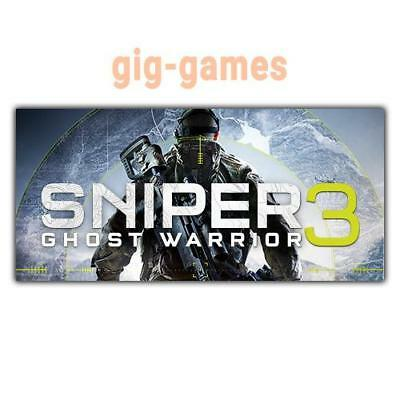 Sniper Ghost Warrior 3 PC spiel Steam Download Digital Link DE/EU/USA Key Code
