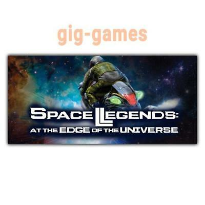 Space Legends: At the Edge of the Universe PC Steam Download Link DE/EU/USA Key