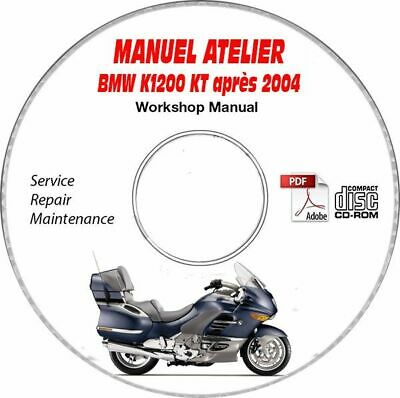 K1200 LT 04- Manuel Atelier CDROM BMW FR Expédition - Inclus, Support - CD-ROM