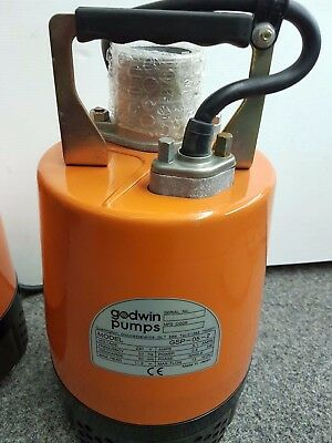 Godwin GSP-05-2 with storms on the increase dont get caught out get your pump