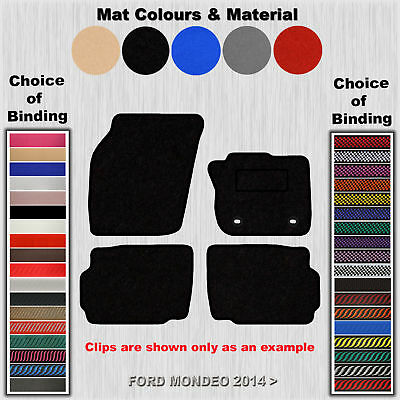Tailored Fit Carpet Floor Mats For Ford Mondeo 2014 >