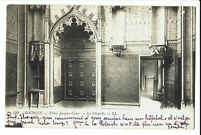 CPA-Carte postale-France -Bourges - Sa Chapelle -1919 - S239
