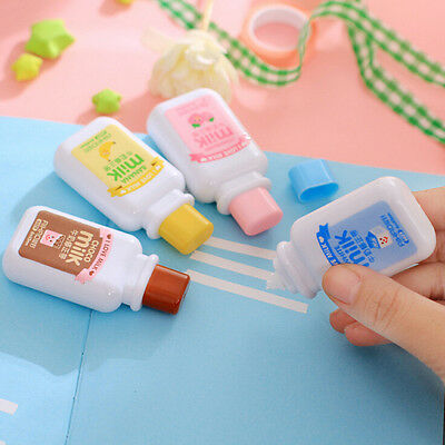 Cute milk correction tape material kawaii stationery office school supplies TSUS