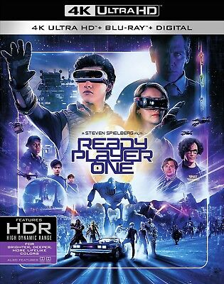 Ready Player One (4K Ultra HD)(UHD)(Dolby Vision)(Atmos)