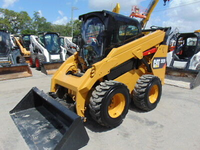 2014 Cat 262-D Turbo - Air Conditioned  Cab - Reverse Camera - Big 80 Hp Turbo