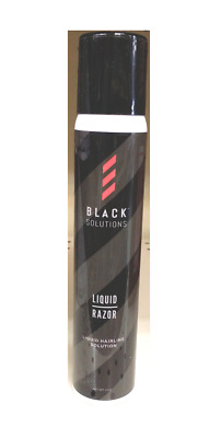 Black Solution Liquid Razor 4oz - Liquid Hairline Solution