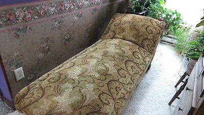 Antique Daybed, Fainting Couch - Good Condition w/cover