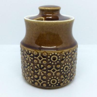 Vintage MCM Kilrush Pottery Celtic Connemara Ireland Brown 1970s Preserve Pot