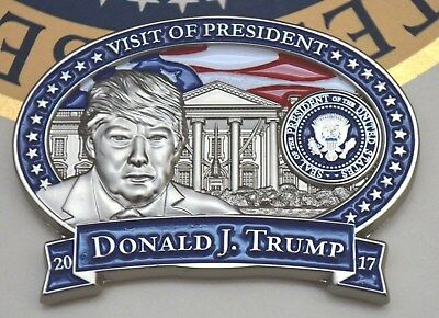 Trump Official State Visit To South Korea Challenge Coin~White House Issue Only