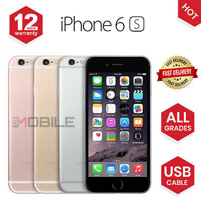 Apple iPhone 6S 16GB/64GB/128GB Unlocked Sim Free Smartphone BOXED - ALL COLOURS