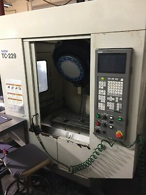 Brother Tc-229N Cnc Tapping And Drilling Machine