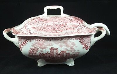 Johnson Brothers Old Britain Castles Pink One (1) Tureen & Ladle Nwt England