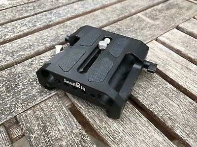 Smallrig 1642 - Arri-Style Dovetail Baseplate with Dual 15mm Rod Clamps