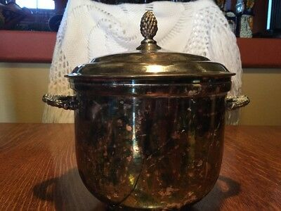 Sheffield Silver Co Wine  Cooler Unknown Design Vintage