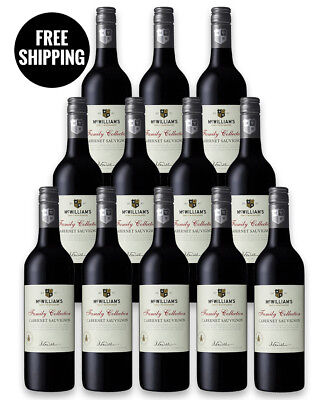 Mcwilliam's Family Collection Cabernet 2017 (12 Bottles)