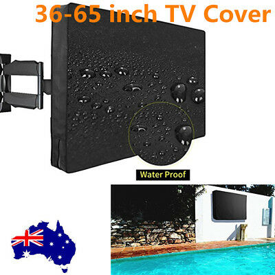 36 - 65 Inch Waterproof Television Cover, Outdoor TV Cover AU Stock