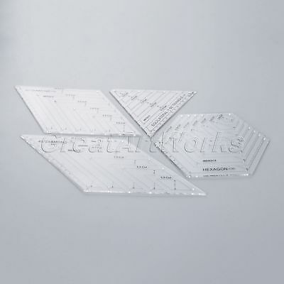 Acrylic Quilting Ruler Quilters Craft Patchwork Ruler Home Drawing Sewing Tools