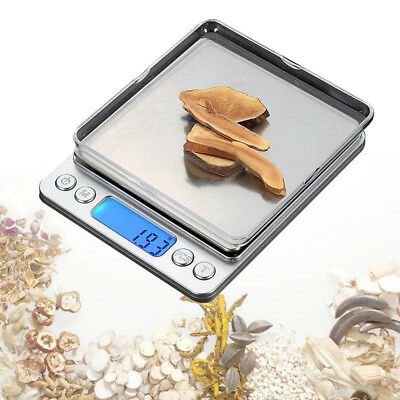 3000g x 0.1g Digital Gram Scale Pocket Electronic Jewelry Weight Scale Tools Hot
