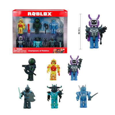 Roblox Figures 6 Piece Set PVC Game Toy Mini Box Package Kids Gifts Toys