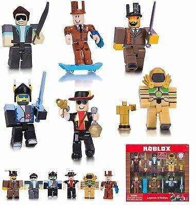 2018 Roblox Figures 6PCS/Set PVC Game Roblox Toy Mini Box Package Kids Gift