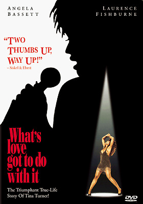 NEW DVD -WHAT'S LOVE GOT TO DO WITH IT ? - TINA TURNER - Angela Bassett, Laurenc