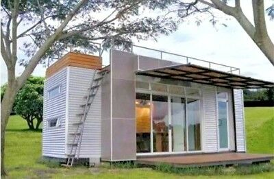 24' FT Pre-Fab Container Modular Home-192 Sqft W/ Roofdeck  Brand New!!