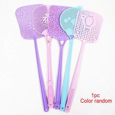 Fly Insect Swat Swatter Bug Mosquito Wasp Swatters Catcher Color Random